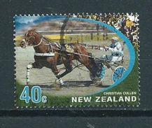 2002 New Zealand 40 Cent Horses,paarden,pferde Used/gebruikt/oblitere - Nieuw-Zeeland