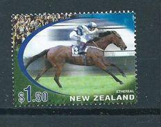 2002 New Zealand $1.50 Horses,paarden,pferde Used/gebruikt/oblitere - Gebruikt