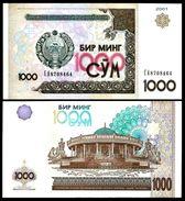Uzbekistan 1000 SUM 2001 P 82 UNC (OUZBEKISTAN) - Uzbekistan