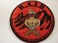 INSIGNE TISSUS PATCH DES COMMANDOS DU CNEC RAID  ETAT EXCELLENT SUR VELCROS - Army