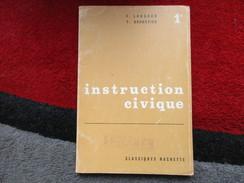 """Instruction Civique """"Spécimen"""" Première (F. Longaud / Y. Brunsvick) éditions Hachette De 1963 - Books, Magazines, Comics"""
