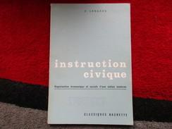 """Instruction Civique """"Spécimen""""  (F. Longaud) éditions Hachette De 1966 - Books, Magazines, Comics"""