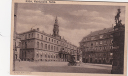 CPA  LETTONIE LATVIA RIGA Rahtuscha Nams - Lettonie