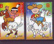 Slovenia - 2001, Comics 2v  - Mnh - Eslovenia