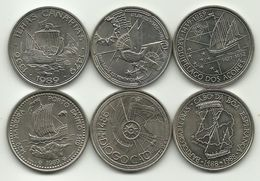 6 Coins Of 100 Escudos - AU - See Photos - Excellent Price. - Portugal