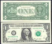 USA 1 Dollar 2013 H UNC # P- 537 H - St. Louis MO - Federal Reserve Notes (1928-...)