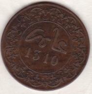 10 MAZUNAS (4 FELS) HA 1310 (1892) FEZ. Hassan I - Morocco