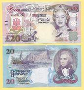 Gibraltar 20 Pounds P-33 2006 UNC - Gibraltar