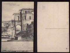 MESSINA - INIZI 900 - TERREMOTO DEL 1908 - SCESA S.MARIA LA STELLA - Catastrofi