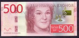 Sweden 500 Kronor 2016 UNC P- 73 - Sweden