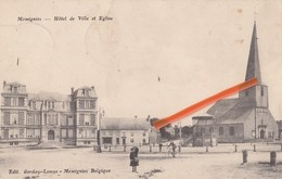 MOMIGNIES - Hôtel De Ville Et Eglise - Momignies
