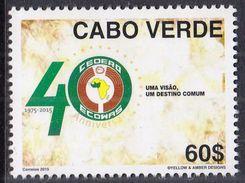 CAPE VERDE 2015 40th Anniversary Of CEDEAO - Cape Verde