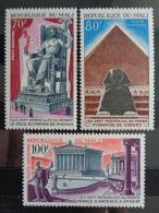 MALI P.A. Y&T N° 130 à 136 ** - LES 7 MERVEILLES DU MONDE - Mali (1959-...)