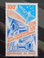 NIGER  1976 Y&T  N° 355 ** - CENTENAIRE DE LA PREMIERE LIAISON TELEPHONIQUE - Niger (1960-...)