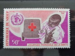 NIGER  1976 Y&T  N° 358 ** - JOURNEE MONDIALE DE LA SANTE - Niger (1960-...)