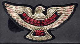 Sierra Leone - 1969 Eagle 15c Red (**) # SG 434a - Sierra Leona (1961-...)