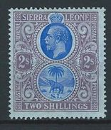 Sierra Leone SG 125, Mi 94 * MH - Sierra Leone (...-1960)