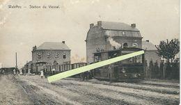 Waleffes - Station Du Vicinal   (TRAM) (restauration) - Faimes