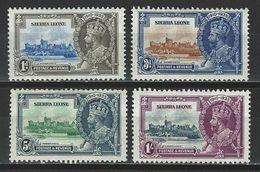 Sierra Leone SG 181-84, Mi 144-47 * MH - Sierra Leone (...-1960)
