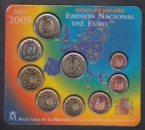 SPAIN  EURO SET 2005 BU Incl. 2€ DON QUIXOTE - Espagne