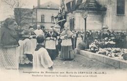 54) JARVILLE : Inauguration Du Monument Aux Morts - Bénédiction De Mgr De La Celle - Nancy