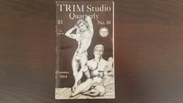 Vintage Gay Male Magazine - TRIM Studio Quarterly No. 10 Summer 1964, Feat. Michael Art (72 P.)Nude Erotica - Para Hombres