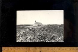 CLEDEN CAP SIZUN Finistère 29 : Chapelle Saint St They Sur Les Falaises De La Pointe Du VAN + 1 Photographie Originale - Cléden-Cap-Sizun