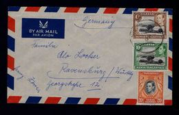 LAKE NAIVASHA Birds Oiseaux UGANDA Landscape Tourisme TANGANYIKA 1981! Cover Sp5037 - Other