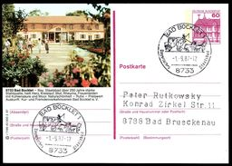 83775) BRD - P 138 - R7/99 - Ortsgleich OO Gestempelt - 8733 Bad Bocklet, Kurmittelhaus - [7] West-Duitsland