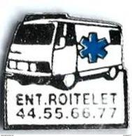 M58 - AMBULANCE ENT. ROITELET - Verso : SM - Medical