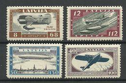 LETTLAND Latvia 1933 Michel 228 - 231 A * - Lettonie