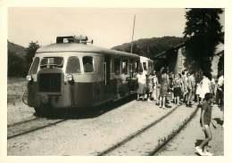 100118 PHOTO 1969 -  07 LAMASTRE Gare - Train Chemin De Fer Train Locomotive - Lamastre