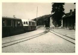 100118 PHOTO 1969 -  07 LAMASTRE Gare Rame Wagon - Train Chemin De Fer Locomotive - Lamastre