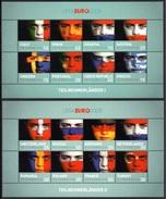AUSTRIA 2008 UEFA Euro Football Championship: Pair Of Miniature Sheets UM/MNH - 1945-.... 2nd Republic
