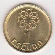20 Pieces  Portugal - 1 Escudo UNC 1998 - Portugal