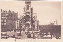 CPA - 100. BIARRITZ - Eglise Ste Eugénie, Sortie De Messe - Biarritz