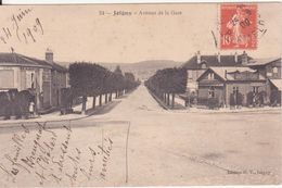 CPA -  24. JOIGNY  - Avenue De La Gare - Joigny