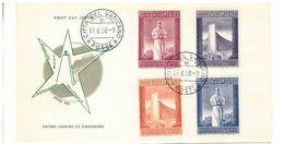 CITTA' DEL VATICANO - EXPO BRUXELLES-  FDC PRIMA DIE - S 239/242- A. 1958 - FDC