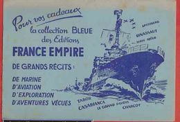 BUVARD / BLOTTER :Les Editions FRANCE EMPIRE  Navire - Transports