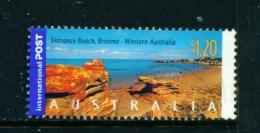 AUSTRALIA  -  2004  Coastlines  $1.20  International Post  Sheet Stamp  Used As Scan - 2010-... Elizabeth II
