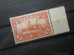 D.R.16  1M**/MNH   Deutsche Kolonien (Samoa) 1901 - MI 20,00 € - Luxusmarke - Colonia: Samoa