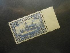 D.R.17  2M**/MNH   Deutsche Kolonien (Samoa) 1901 - MI 30,00 € - Luxusmarke - Colonia: Samoa