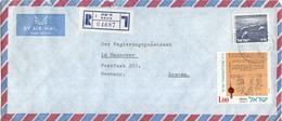 Israël - Recommandé/Registered Letter/Einschreiben -  1 Haifa - 04687 - Israël