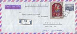Israël - Recommandé/Registered Letter/Einschreiben -  2 Haifa - 07598 - Israël
