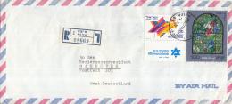 Israël - Recommandé/Registered Letter/Einschreiben -  2 Haifa - 08669 - Israël