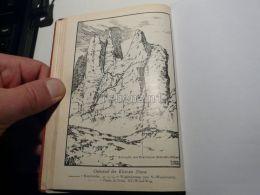 Sexten Dolomites Sextner Dolomiten Ostwand Kleine Zinne Cima Piccola Drei Zinnen Italy Austria Map Mappa Karte 1928 - Carte Geographique