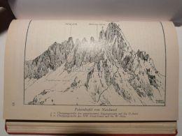 Sexten Dolomites Sextner Dolomiten Paternkofel Monte Paterno Italy Austria Map Mappa Karte 1928 - Carte Geographique