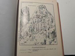 Sexten Dolomites Sextner Dolomiten Einserkofel Cima Una Italy Austria Map Mappa Karte 1928 - Carte Geographique