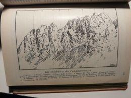 Cortina D'Ampezzo Ampezzaner Dolomiten Südabstürze Pomagagnonzuges  Italy Austria Map Mappa Karte 1928 - Carte Geographique