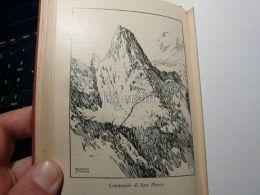 Cortina D'Ampezzo Ampezzaner Dolomiten Campanile Di San Marco  Italy Austria Map Mappa Karte 1928 - Carte Geographique